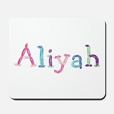 Aliyah Princess Balloons Mousepad