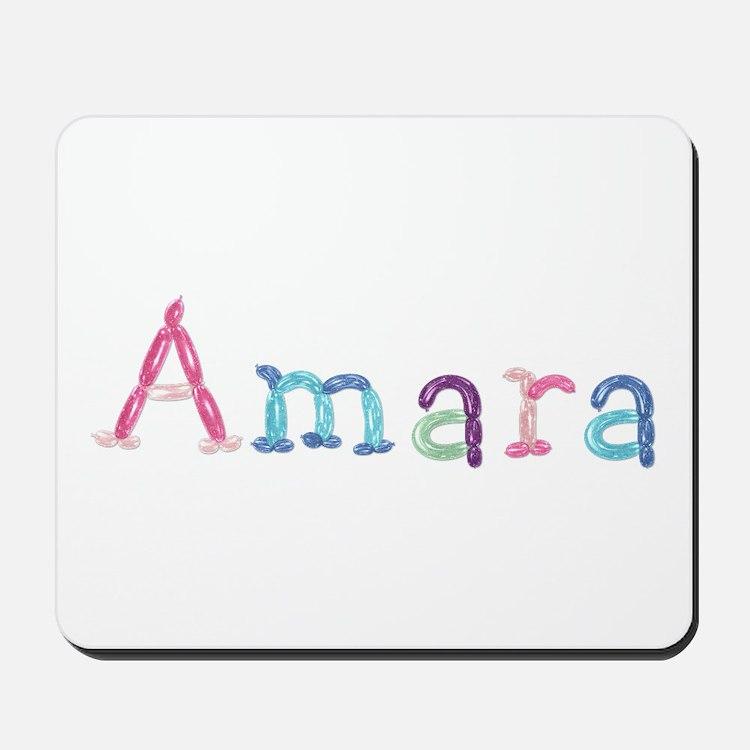 Amara Princess Balloons Mousepad
