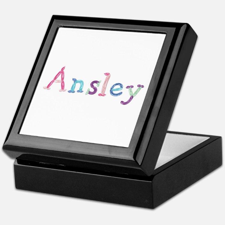 Ansley Princess Balloons Keepsake Box