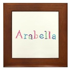 Arabella Princess Balloons Framed Tile
