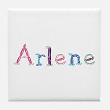 Arlene Princess Balloons Tile Coaster