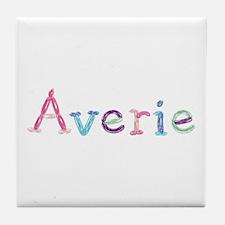 Averie Princess Balloons Tile Coaster