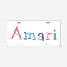 Amari Princess Balloons Aluminum License Plate