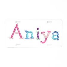 Aniya Princess Balloons Aluminum License Plate