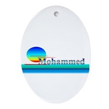 Mohammed Oval Ornament