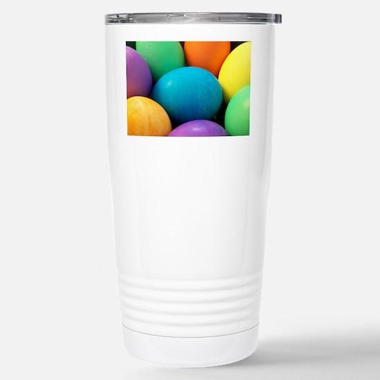 Easter Eggs Stainless Steel Travel Mug