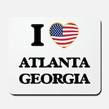 I love Atlanta Georgia Mousepad