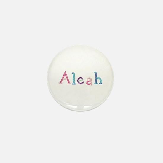 Aleah Princess Balloons Mini Button