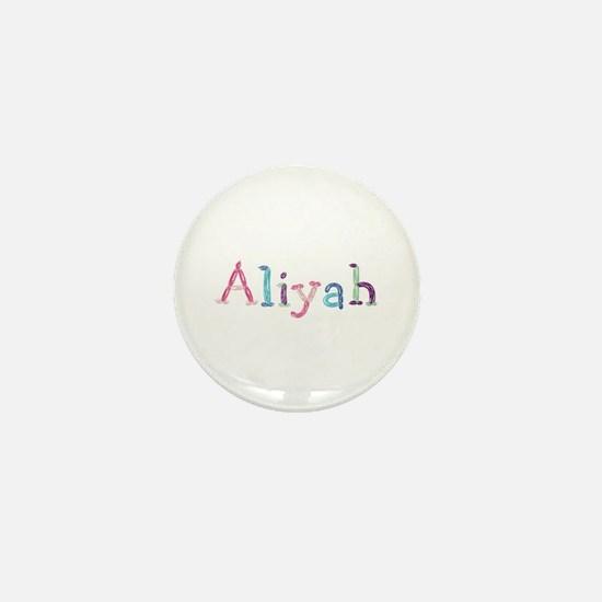 Aliyah Princess Balloons Mini Button