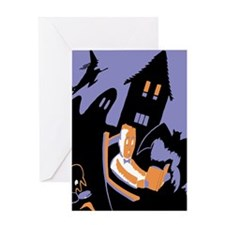 Scary Tales Greeting Card