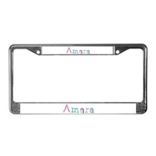 Amara Princess Balloons License Plate Frame
