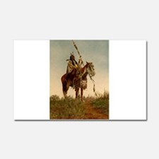 native americans Car Magnet 20 x 12