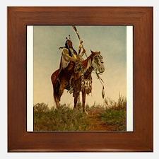 native americans Framed Tile