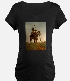 native americans Maternity T-Shirt