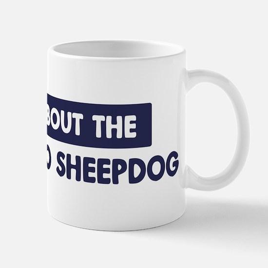 About BERGAMASCO SHEEPDOG Mug