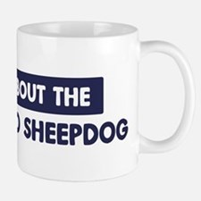 About BERGAMASCO SHEEPDOG Small Small Mug