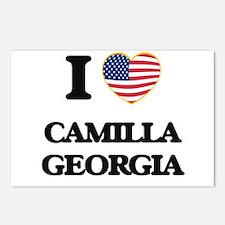 I love Camilla Georgia Postcards (Package of 8)