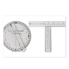 goniometer design.png Postcards (Package of 8)