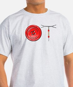 OT Button Design T-Shirt