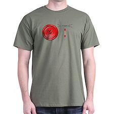 OT Button Design T-Shirt