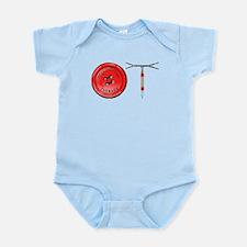 OT Button Design Infant Bodysuit
