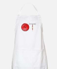 OT Button Design Apron