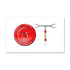 OT Button Design Car Magnet 20 x 12