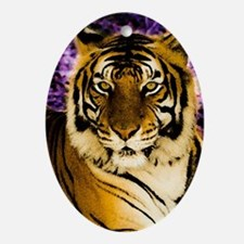 RoyalTiger Oval Ornament
