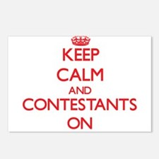 Keep Calm and Contestants Postcards (Package of 8)