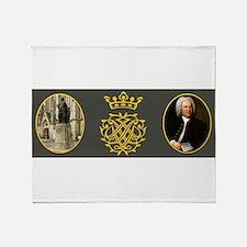 J.S. Bach Throw Blanket