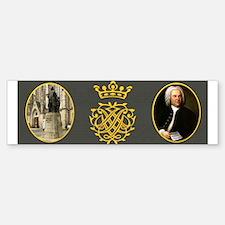 J.S. Bach Bumper Bumper Bumper Sticker