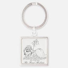Pekingese Royalty Keychains