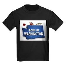 WASHINGTON BORN T-Shirt