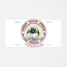Pekingese Tradition Aluminum License Plate