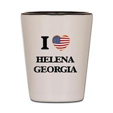 I love Helena Georgia Shot Glass