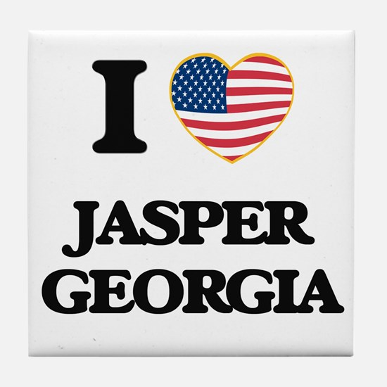 I love Jasper Georgia Tile Coaster