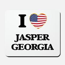 I love Jasper Georgia Mousepad