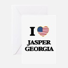 I love Jasper Georgia Greeting Cards