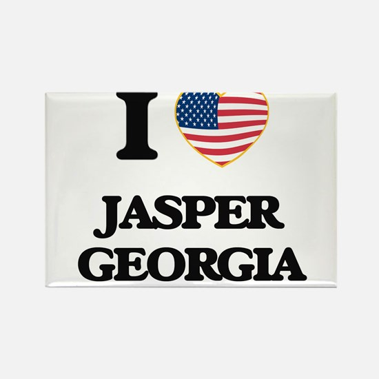 I love Jasper Georgia Magnets