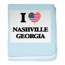 I love Nashville Georgia baby blanket