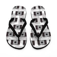 Retro Camera Flip Flops