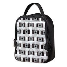 Retro Camera Neoprene Lunch Bag