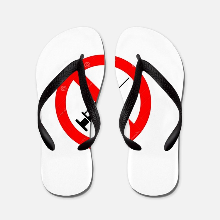 No Vaccine Flip Flops