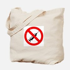 No Vaccine Tote Bag