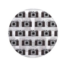"""Retro Camera 3.5"""" Button (100 pack)"""