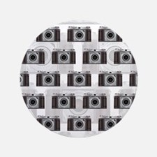 "Retro Camera 3.5"" Button (100 pack)"