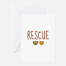 Rescue Greeting Cards