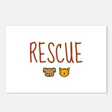 Rescue Postcards (Package of 8)