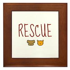 Rescue Framed Tile