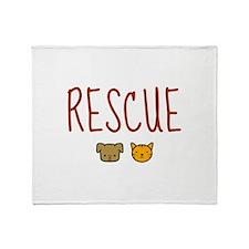 Rescue Throw Blanket